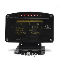 12000rpm Tacho Race Car Dash Dashboard Gauge Meter Full Sensor Oil WaterTemp Kit