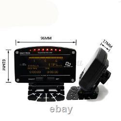 12V Digital Gauge Car Dash Race Rally OBD High Accuracy Wire Sensor 12000RPM