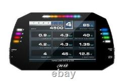 Aim MXG Car Racing 7 TFT Dash Dashboard Data logger with 4m GPS Roof Module