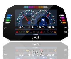 Aim MXG Strada 1.2 Car Racing 7 TFT Dash Dashboard Display OBDII 4m GPS