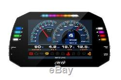 Aim MXG Strada 1.2 Race Icons Car Racing 7 TFT Dash Dash Display OBD11 Harness