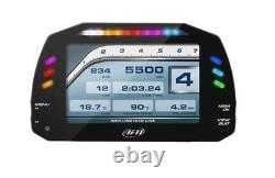 Aim MXS Strada OBDII Car Motorbike bike Race Icons Dash Display 1.3m GPS Module