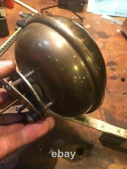 Antique car Bermuda bell brass era Oldsmobile curved dash horn loud! Vintage