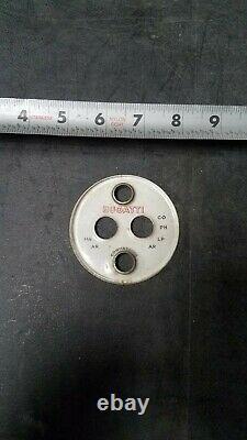 Bugatti Prewar Race Car Gauge Hot Rod Scta Vintage Old Dash Instrument Trog