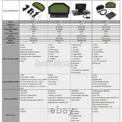 Car Dash Race Display OBD Bluetooh 7000RPM Dashboard LCD Screen Digital Gauge