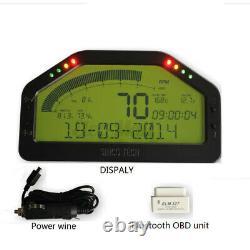 Car Dash Race Display OBD Bluetooth Kit Dashboard LCD Screen Digital Gauge