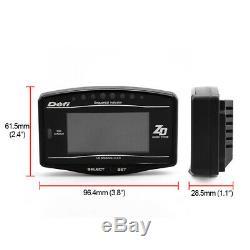 Car Dash Race Display OBD Dashboard LCD Screen Digital Racing Gauge Rally Kit