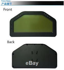 Car Dash Race Display OBD2 Bluetooth, Dashboard LCD Display Screen Digital Gauge