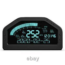 Car Dash Race Display OBD2 Bluetooth Dashboard LCD Screen Digital Gauge Kit New