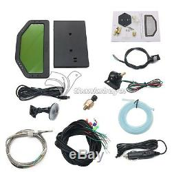 Car Race Dash Bluetooth Full Sensor Dashboard LCD Rally Gauge SINCOTECH DO904