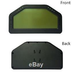 Car Race Dash Display OBD2 Bluetooth LCD Screen Digital Dashboard Gauge Speed