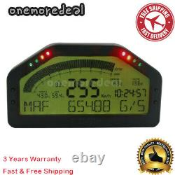 DO903 Race Dash Display OBD2 Bluetooth Dashboard LCD Screen 9000RPM for 12V Car