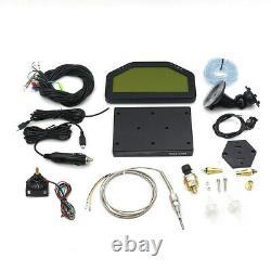 DO904 Car Dash Race Display bluetooth Sensor Dashboard LCD Screen Rally D//
