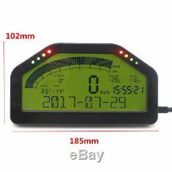 DO904 Car Dash Race Display bluetooth Sensor Dashboard LCD Screen Rally Gauge