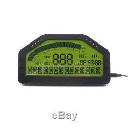 DO904 Car Race Dash Bluetooth Full Sensor Dashboard LCD Rally Gauge sz