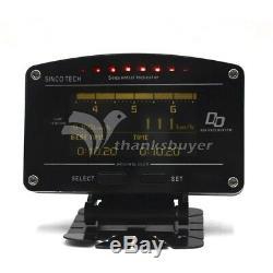 DO907 Rally Car Race Dash Dashboard Digital Display Gauge Meter Full Sensor Kit