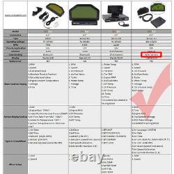 DO908 9000RPM Car Dash Race Display Rally Gauge Sensor KIT Dashboard LCD Screen