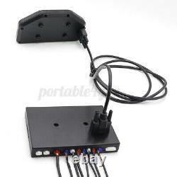Digital Gauge Kits LCD Screen High accuracy Sensor Car Dash Race OBD2