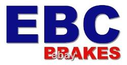 EBC Brake Discs Black Dash Front For Subaru Impreza 2 (GD, Gg) USR1056
