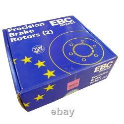 EBC Brake Discs Black Dash Front For Vauxhall Signum Vectra C 9-3 USR1120