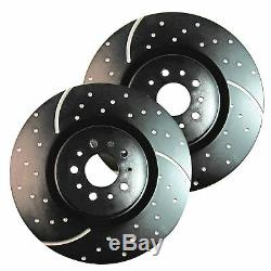 EBC GD Sport Rotors / Turbo Grooved Upgraded Front Brake Discs (Pair) GD1926