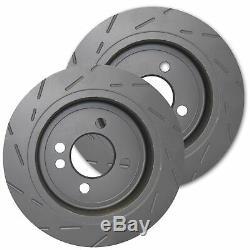 EBC USR Grooved Upgraded Rear Brake Discs (Pair) USR1197