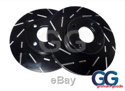 EBC USR Ultimax Slotted Upgraded Front Brake Discs Ford Fiesta ST 180 1.6T