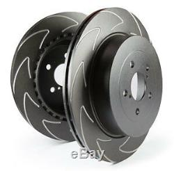 Ebc Blade Sports Brake Discs Front Bsd1201 To Fit A3 (8p/8v)