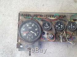 JAGUAR MARK 5. Instrument/Dash assembly or suit VINTAGE or CLASSIC Racecar