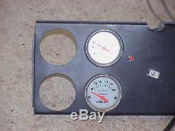 NASCAR Race Car Dash Panel with Autometer Pro-Comp Ultralite Gauges Yates