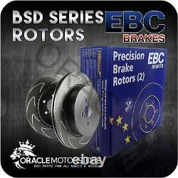 New Ebc Bsd Front Discs Pair Track / Race Braking Pads Oe Quality Bsd1150