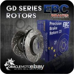 New Ebc Turbo Groove Front Discs Pair Performance Discs Oe Quality Gd926