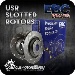 New Ebc Usr Slotted Front Discs Pair Performance Discs Oe Quality Usr1676