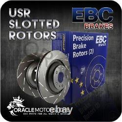 New Ebc Usr Slotted Front Discs Pair Performance Discs Oe Quality Usr7268