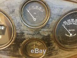 Old Speedster Prewar Race Car Gauge Scta Vintage Dash Instrument Panel Trog Lqqk