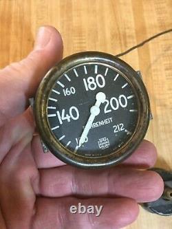 Old Speedster Prewar Race Car Gauge Set Hot Rat Rod Scta Vintage Dash Instrument