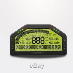 SINCO TECH DO908 Car Race Dash Dashboard Display Gauge LCD Full Sensor Kit 9-16V