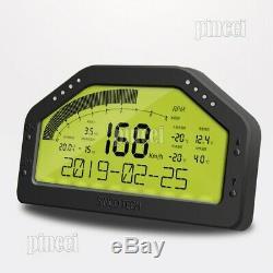 SINCO TECH DO908 Car Race Dash Dashboard Racing Display Gauge Full Sensor Kit