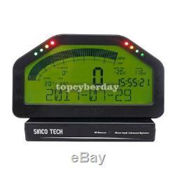 SINCOTECH DO904 Car Race Dash Bluetooth Dashboard LCD Rally Gauge #DE