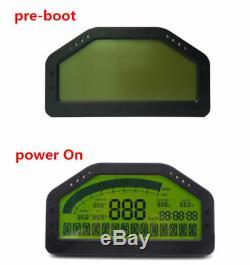 SINCOTECH DO904 Car Race Dash Bluetooth Full Sensor Dashboard LCD Rally Gauge DE