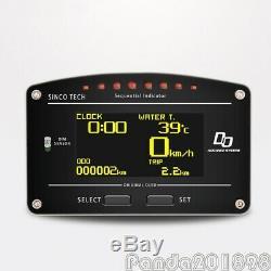 SINCOTECH DO907 Racing Dashboard Sensor Kit 12V Car Race Dash Display 11000RPM