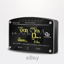 SINCOTECH DO907 Racing Dashboard Sensor Kit Universal 12V Car Race Dash Display