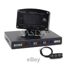 SINCOTECH DO907 Rally Car Race Dash Dashboard Digital Display Gauge Meter xa80