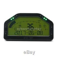 SINCOTECH DO908 Car Race Dash Full Sensor Dashboard LCD Rally Gauge USA Shipping