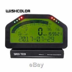 Sincotech Do904 Car Race Dash Bluetooth Full Sensor Dashboard LCD Rally Gauge