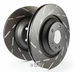 USR1398 EBC Ultimax Brake Discs FRONT (PAIR) fit Grande Punto Punto Punto Evo AD