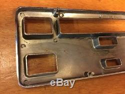 VINTAGE DASH INSTRUMENT RAT ROD PREWAR RACE CAR 40 1940 FORD speedometer BEZEL