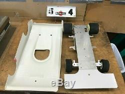 Vintage 1/8 Scale KYOSHO POWER DASH R/C Nitro Racing Car Kit