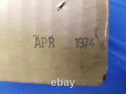 Vintage NOS FORD VACUUM GAUGE POD MINT IN BOX D4AZ-10B944-A WOW