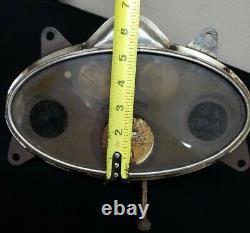Vintage Unrestored Stewart Warner Oval Speedometer Odometer 20's 30's RARE